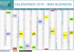 Calendrier Business 17avr19